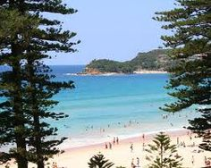 Manly Beach, Sydney, Australia. Good place to recover from the jet lag! Windows open and sleeping to the sound of the sea.