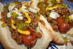 Deep South Dish: Skillet Hot Dog Chili Sauce