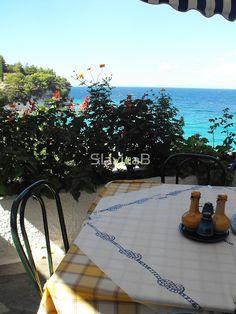 Greek Island Beach Samos restaurant