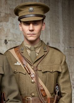 Captain Nicholls from War Horse. I cried when he died.  The look on his face... *sob*