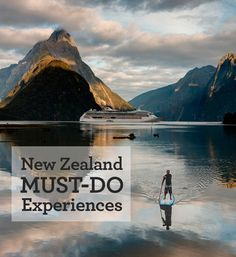 From cruising the magical fiords of Milford Sound to sipping award-winning wines in stunning vineyards, New Zealand has a diverse variety of unforgettable experiences, all in just one amazing country. Here's a list of 10 'Must-Dos' to check off your list!