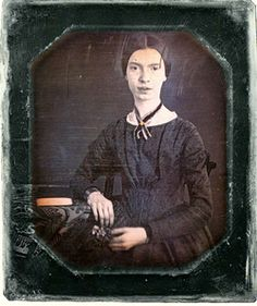 """[Daguerreotype] """"I had no portrait, now, but am small, like the Wren, and my Hair is bold, like the Chestnut Bur – and my eyes, like the Sherry in the Glass, that the Guest leaves – Would this do just as well?"""""""
