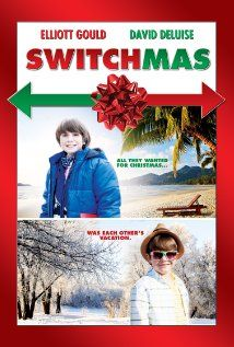 """Switchmas - Elliot Gould, David Deluise (original title was """"Ira Finkelstein's Christmas""""- 2012) ... a Christmas obsessed Jewish boy on his way to Florida figures out how to get the Christmas of his dreams by trading airline tickets and places with another boy going to snowy Christmastown, WA (the setting is the beautiful Bavarian style, real-life Leavenworth, WA)."""