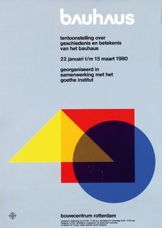 328: Poster by Anonymous - bauhaus : Lot 328