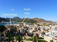 Murcia, Arsenal, Ct, Seattle Skyline, Travel, Walks, Cartagena, Military, Viajes