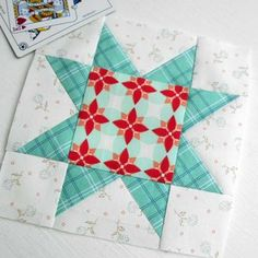 Block 36 - Lucky Star. Gotta love the classics when time is short but you want something pretty.