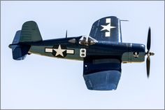 Goodyear FG-1D Corsair at the 2015 Planes of Fame Air Show. ~ BFD