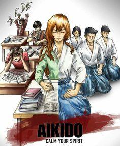 #Aikido Aikido Martial Arts, Martial Arts Workout, Boxing Workout, Dojo, Aikido Techniques, Martial Arts Techniques, Aikido Videos, Wallpaper Samurai, Aikido Quotes