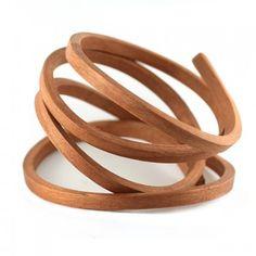 wooden bracelet by Gustav Reyes
