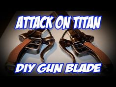 Attack on Titan How to DIY Kenn Blade Sword Tutorial - YouTube