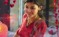 [Next Generation Wallpaper] - Audrey Tautou-Beautiful_(French Beautiful Wallpaper Hd, Girl Wallpaper, Scenery Wallpaper, Audrey Tautou, Audrey Hepburn, Dark Red Roses, Cool Lettering, Asian Bridal, Celebrity Wallpapers