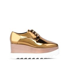 Shop the Gold Elyse Shoes by Stella Mccartney at the official online store. Discover all product information.