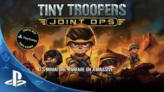Tiny Troopers Joint Ops -- Features Trailer https://gamingvault8503.wordpress.com  #tinytoopers #videogame #trailer