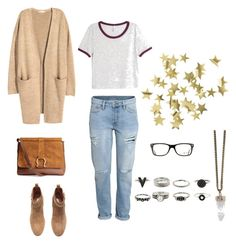 """""""Untitled #7"""" by wavvs on Polyvore featuring H&M, Ray-Ban and Givenchy"""