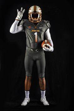 New ASU football uniforms copper and grey College Football Uniforms, College Uniform, Sports Uniforms, Nike Football, Best Uniforms, Arizona State University, Raider Nation, American Football, Gym Men