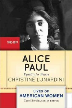 Alice Paul: Equality for Women shows the dominant and unwavering role Paul played in the passage of the Nineteenth Amendment, granting the vote to American women. The dramatic details of Paul's imprisonment and solitary confinement, hunger strike, and force-feeding at the hands of the U.S. government illustrate her fierce devotion to the cause she spent her life promoting.