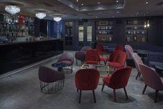 Teatteri_ Design Office KOKO3 Conference Room, Restaurant, Table, Furniture, Design, Home Decor, Decoration Home, Room Decor, Meeting Rooms
