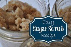 Everything Pretty: Easy Sugar Scrub Recipe www.yourbeautyblog.com