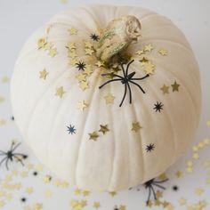 Glam glitter pumpkin