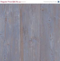 Blue Weathered Barnwood Boards Wallpaper by WallpaperYourWorld