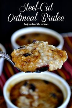 Lady Behind The Curtain - Steel-Cut Oatmeal Brulee
