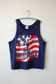 660ca39e1af684 80 s JAZZERCISE Tank Top   American Flag XL Tank Top   Athletic XL Tank Top