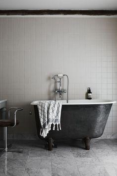 sylvan ideas: Rooms - Airtable Large Bathrooms, Grey Bathrooms, Beautiful Bathrooms, Small Bathroom, Timeless Bathroom, Luxury Bathrooms, Bathroom Plants, Basement Bathroom, Contemporary Bathrooms