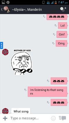 Talking to my friends  2
