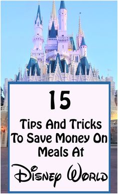 We have put together our top 15 best tips on how to save money at Disney World. Enjoy your trip with more money in your pocket! |Disney World planning| Disney World saving| Save money| Disney World| Disney Vacation Planning, Disney World Planning, Disney World Vacation, Disney Cruise Line, Disney Vacations, Disney Travel, Disney World Tips And Tricks, Disney Tips, Disney Stuff