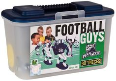 Everything a child needs to create and recreate Penn State football  games and play for hours . Available at OurPamperedHome.com