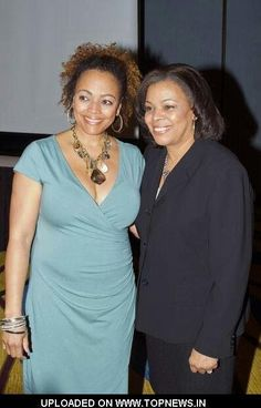 Kim Fields with her mother actress Chip Fields ('Good Times')