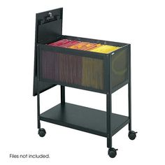File Carts – Ultimate Office Coastal Furniture, Home Office Furniture, Furniture Design, Filing System, Low Shelves, Rack Shelf, Steel Mesh