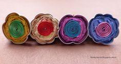 Anillos flor capsulas de café