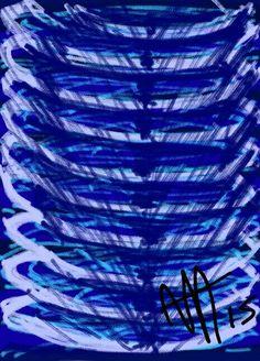 Azul em Espiral.