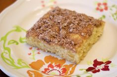 gluten free orange crumb cake  makes 9 servings   1 cup Sarah's gluten free flour blend 1/2 cup sugar 1/4 cup coconut oil, at room temperatu...