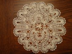 Russian Vologda handmade bobbin lace Table Doily s