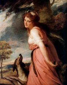 Lady Emma Hamilton. A much maligned lady. Her biography 'England's Mistress' by Kate Williams is worth reading.