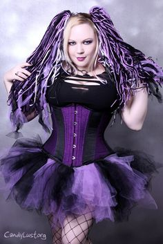 Lavender Pastel Purple Black Tattered Trashy TuTu Adult All Sizes MTCoffinz Pastel Purple, Shades Of Purple, Purple And Black, Black Tutu Skirt, Dark Princess, Goth Beauty, Cyberpunk Fashion, Cybergoth, Purple Dress