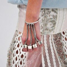 this bracelet is a ring. no, wait, rings!