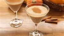 Enjoy an ice-cold martini that tastes like pumpkin pie in a glass.