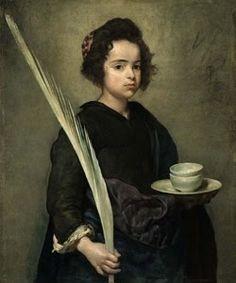 Saint Rufina, Diego Velazquez, 1599