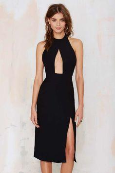 Black Cutout Dress