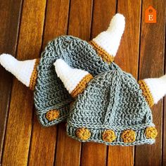 The Thor Viking Helmet  The crochet pattern is now available in 0 to 3 3 to 6…