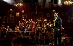 First Look at Broadway's Great Comet, Starring Josh Groban and Denée Benton - TheaterMania.com