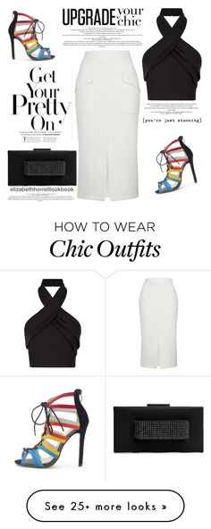 """My Wardrobe Adventures!"" by elizabethhorrell on Polyvore featuring Topshop, Finders Keepers and WithChic"