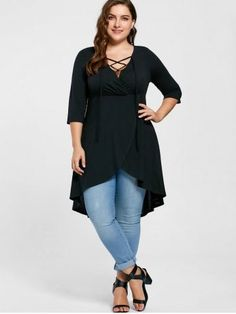 6a804536 Plus Size Clothing | Women's Trendy and Fashion Plus Size On Sale Size:14 -  26. High Low ShirtStylish TopsT ...