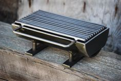 The 824 Hibachinator Hibachi Grill w/ carbon steel от Kotaigrill Hibachi Grill, Bbq Grill, Metal Projects, Welding Projects, Diy Welding, Grill Design, Barbecue Design, Rocket Stoves, Metal Fabrication