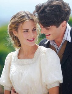 amaia salamanca y yon gonzalez /// If you're lucky, you have found Gran Hotel, a cheery and riveting Spanish melodrama that entails mystery, comedy, a bit of pathos and of evil, and all torques into great TV--revolving around our star-crossed lovers.