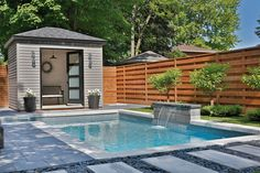 backyard designs – Gardening Ideas, Tips & Techniques Backyard Plan, Small Backyard Pools, Backyard Pool Designs, Small Pools, Backyard Retreat, Swimming Pools Backyard, Swimming Pool Designs, Backyard Patio, Pool Paving