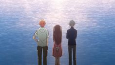 A Walk By The Lake Fruits Basket Episode 15 I think this is the first time when I genuinely preferred how the episode was handled in the older anime compared to this one. While this anime has taken… Blue Aesthetic, Aesthetic Anime, Fruits Basket Manga, Kyo And Tohru, Animes To Watch, Whiskers On Kittens, Fandom, Ghibli, Me Me Me Anime